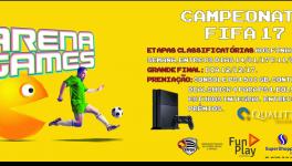 Inscrições CAMPEONATO FIFA 17 ARENA GAMES SUPER SHOPPING OSASCO | Inscreva-se já!