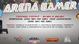 Inscrições ARENA GAMER SHOPPING METRÔ TUCURUVI | Inscreva-se já!