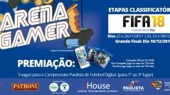 1º CAMPEONATO FIFA 18 ARENA GAMER SHOPPING METRÔ TATUAPÉ | Inscreva-se já!