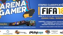 CAMPEONATO FIFA 18 ARENA GAMER ATRIUM SHOPPING SANTO ANDRÉ | Inscreva-se já!