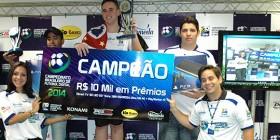 Guilherme Fonseca, campeão do BR 2014