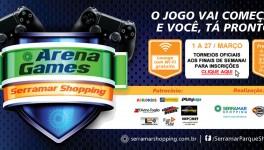 Inscrições Arena Games Serramar Shopping| PES2016
