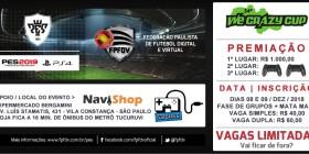 34º WE CRAZY CUP – PES 2019 | Inscreva-se já > CANCELADO!