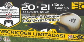 TORNEIO VIRTUAL SOCCER – PES 2019 X FIFA 19 SCCP | Inscreva-se já!
