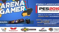 1º CAMPEONATO PES 2019 ARENA GAMER SHOPPING CIDADE SOROCABA   Inscreva-se já!