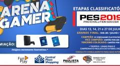 CAMPEONATO PES 2019 ARENA GAMER CENTRAL PLAZA SHOPPING | Inscreva-se já!