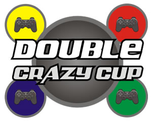 Logo Double Crazy Cup!