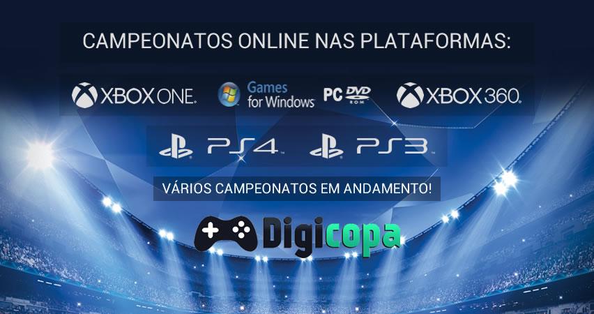 Campeonatos Online Oficiais e Organizados pela FPFDV - Federação Paulista de Futebol Digital e Virtual.